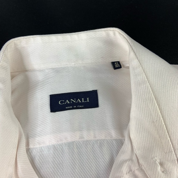 Canali Other - Canali Blush Pink Button Down Shirt w/ French Cuff